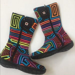 Shoes - Mola Boots Handmade In Colombia 6 36 Shoes art